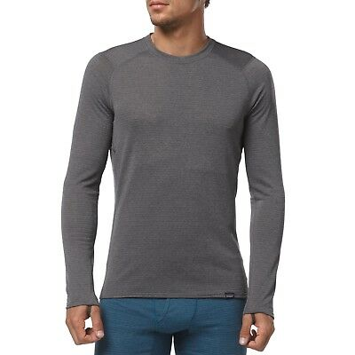Patagonia Men's Capilene Thermal Weight Crew Base Layer - Forge/Feather Grey