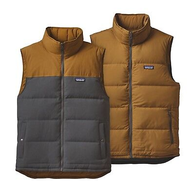 Patagonia Men's Reversible Bivy Down Insulated Vest - Forge Grey