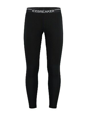 Icebreaker Men's Apex Base Layer Merino Leggings - Black
