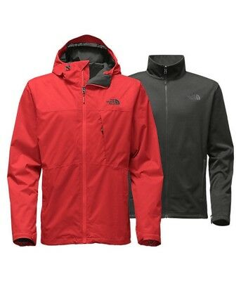 The North Face Men's Arrowood Triclimate Jacket - Cardinal Red