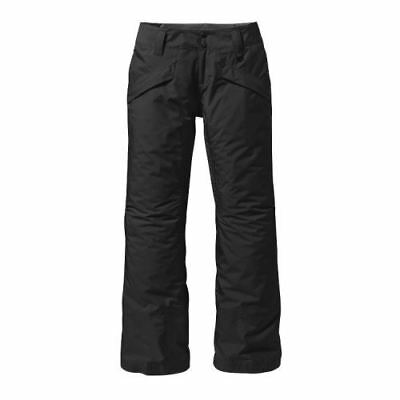 Patagonia Women's Insulated Snowbelle Snow Pants - Black/Grey (X-Small Only)