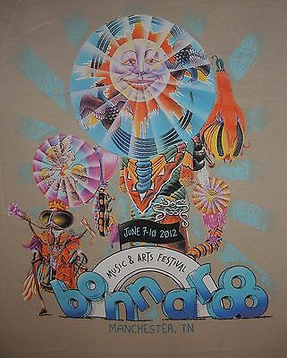 Rare ALICE COOPER signed XL 2012 Official BONNAROO MUSIC FEST T-SHIRT EXC CON