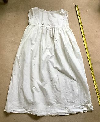 Victorian/edwardian Christening Gown Good Condition