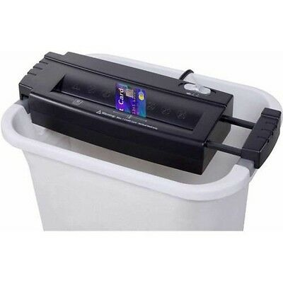 Paper/Credit Card Shredder Personal 6-Sheet By Aurora GB AS680S