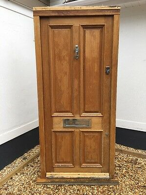 Large Victorian  Front Door Old Period Reclaimed Hardwood Frame Bespoke Joiner