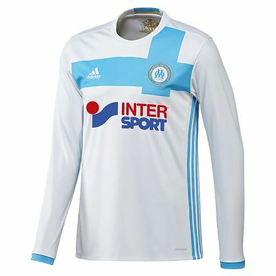 Olympique de Marseille Home Shirt 2016/17 - Long Sleeved Personalised Available