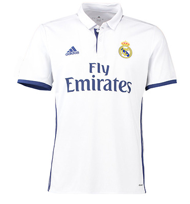 Real Madrid Home Shirt 2016-17 Personalised Name/Number Available