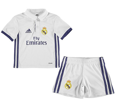 Real Madrid Home Shirt 2016-17 - Kids Personalised Name/Number Available
