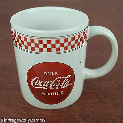 Coca-Cola Classic Coke Ceramic Coffee Mug - Drink Coca-Cola In Bottles - Gibson