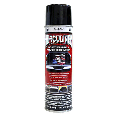Herculiner Spray 1,15m2 schwarz Bedliner DO IT YOURSELVE Ladefläche PU