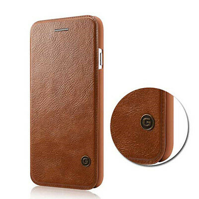 Genuine Real Leather Flip Case Wallet Cover For iPhone XS Max XR X 8 7 Plus 6S