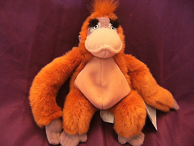 disney jungle book king louis soft toy 8'' with tag