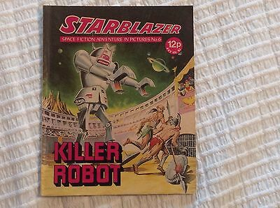 STARBLAZER No.6 KILLER ROBOT - DC THOMSON 1979