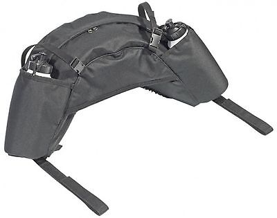 BUSSE Bananas Pack bag with 2 Bottles Saddle bag English Horse black