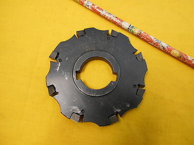 """VALENITE USA 4"""" INDEXABLE CARBIDE INSERT MILL CUTTER milling VST-04-3-08-38-44"""