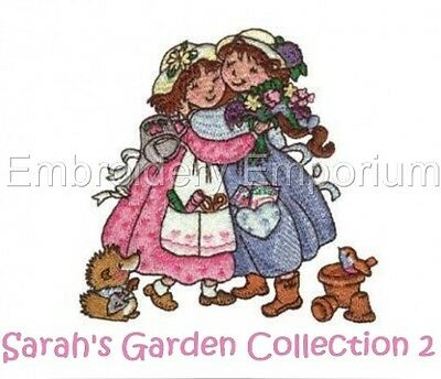 Sarah's Garden Collection 2 - Machine Embroidery Designs On Cd