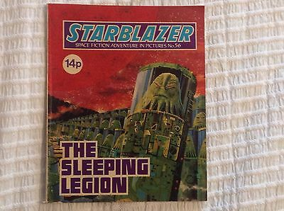 STARBLAZER No.56 THE SLEEPING LEGION - DC THOMSON 1981