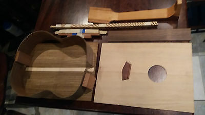tenor ukulele kit in bookmatched ovancol