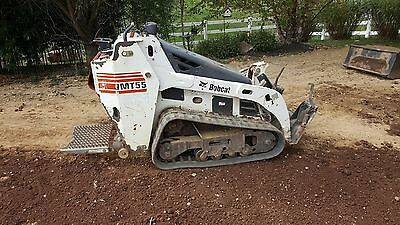 2008 Bobcat MT55 Stand On Tracked Skid Steer Loader!