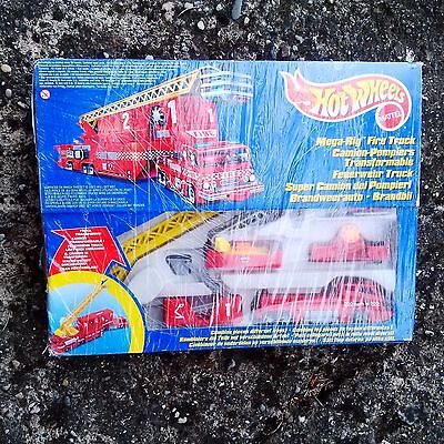 Hot Wheels Mega Rig Fire Truck