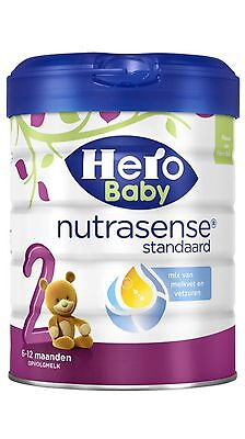 4 X Hero Baby 2 Nutrasense Standaard 6-12months.100 % Original Dutch Baby Powder