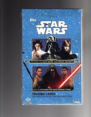 Star Wars Journey To The Force Awakens 12 box case FISHER MARK HAMILL  DANIELS?