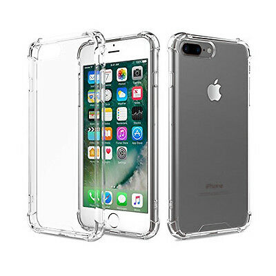 For Apple iPhone 6 / Iphone 6s Case Clear Cover Shockproof Rubber Protective