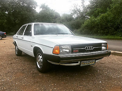 1977 Audi 100 GLS 5E 2.2 injection - a time capsule!