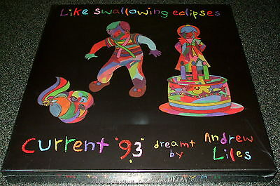 Like Swallowing Eclipses-Current 93 Dreamt By Andrew Liles-6 Lp-Nww-New & Sealed