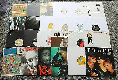 "Collection of 24 x Soul Funk Boogie Disco Classic 12"" Vinyl Records - New Set 6"