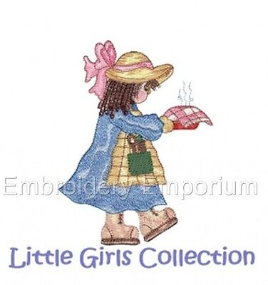 Little Girls Collection - Machine Embroidery Designs On Cd