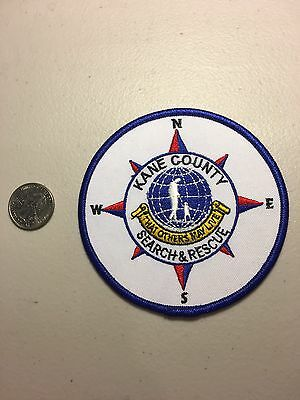 Kane County Utah Sheriffs Department Search And Rescue Patch Ut