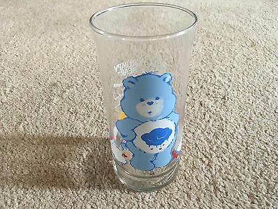 Care Bears Glass Grumpy  1983 Pizza Hut good condition
