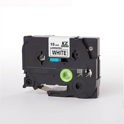 Compatible Brother P-Touch Tz Label Tape Tze241 Printer 18mm Black on White