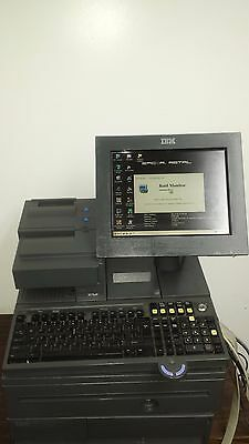 100 lot of IBM POS System 4800-J22 With Printer 4610 & Cash Drawer touch screen