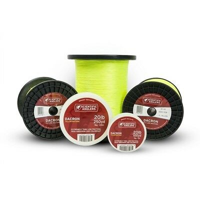 Scientific Anglers Dacron Fly Line Backing - Yellow 30lb / 13.6kg