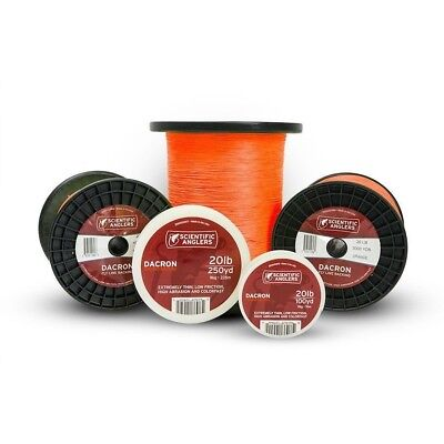 Scientific Anglers Dacron Fly Line Backing - Orange 20lbs / 9kg