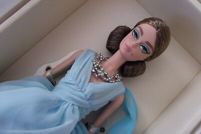 Silkstone Gold Label BFMC Poseable Blue Chiffon Barbie Doll