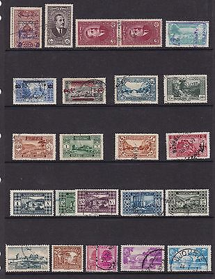 Old Stamps From Lebanon (Used)