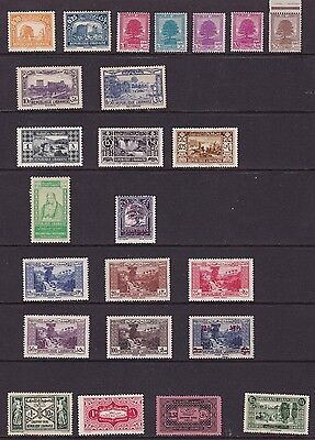 Old Stamps From Lebanon (Postally Unused)
