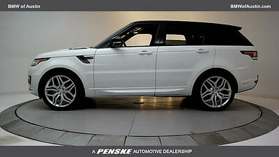 2014 Land Rover Range Rover Sport 4WD 4dr Autobiography 4WD 4dr Autobiography SUV Gasoline 5.0L 8 Cyl