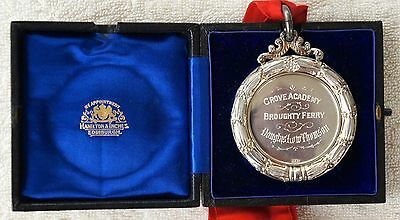 Scottish Silver Medal The Edinburgh Angus Club Prize From 1904-5.Broughty Ferry