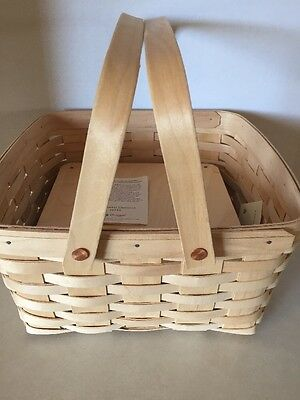Collectible Longaberger 1994 Cake Basket Unstained