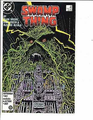 Swamp Thing #52 2nd Series 1986 DC Comics Arkham Asylum Joker