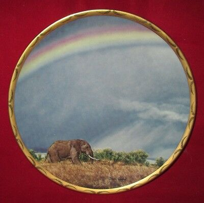 """Lenox """"Rainbow Trail"""" by Simon Combes King Of The Plains Collector Plate 8"""""""