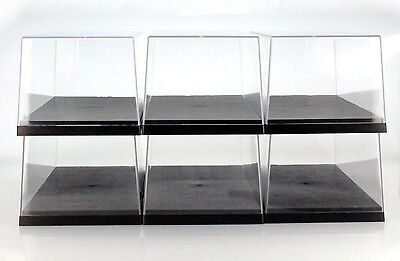 6 Carton Triple9 ACRYLIC DISPLAY CASES FOR MODEL CARS IN SCALE 1:18