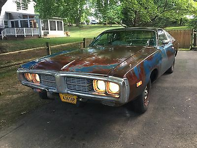 1974 Dodge Charger SE 1974 Dodge Charger SE with a clear coated preserved patina finish. Rat Rod