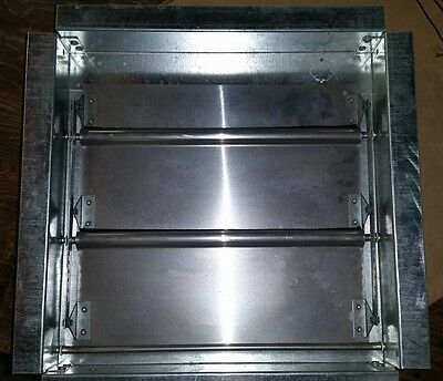 12 x 12 Backdraft Damper / Wall Vent / Exhaust Vent