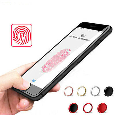 Metal Quickly Unlock Home Button Circle Cover Sticker Skin For iphone 6 6Plus 7