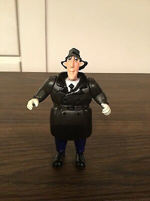 1991 Burger King Toy Inspector Gadget Trench Figure Legs and Neck Grow Longer